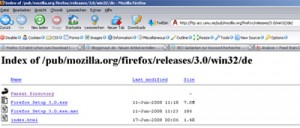 Firefox 3 Download finale Version
