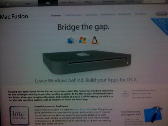 Mac Fusion - Bildquelle: tuaw.com