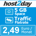 Neuer Partner Host2Day.de