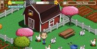 Farmville Bauernhof mit Hühner und Bauer