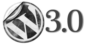 wordpress 3.0 logo