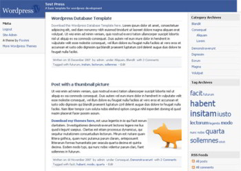 facebook wordpress theme