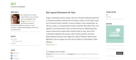 ari html5 wordpress theme