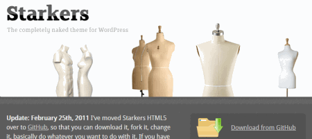 starkers naked wordpress theme