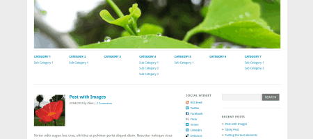 yoko html5 wordpress theme